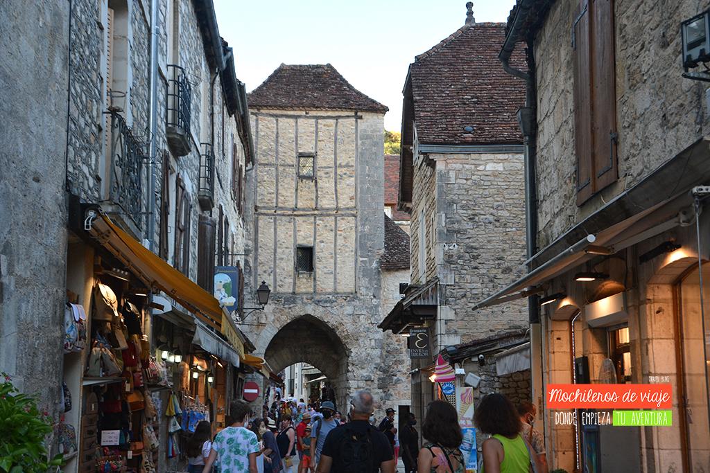 calle principal rocamadour