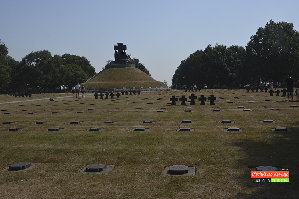 cementerio alemán en normandía
