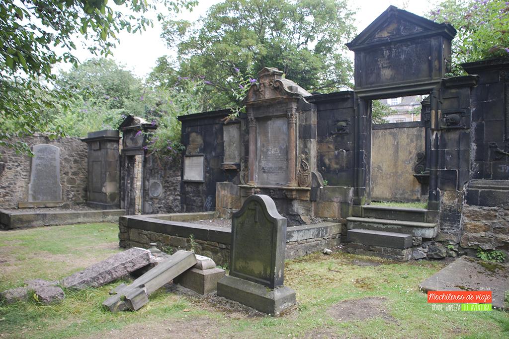 cementerios edimburgo