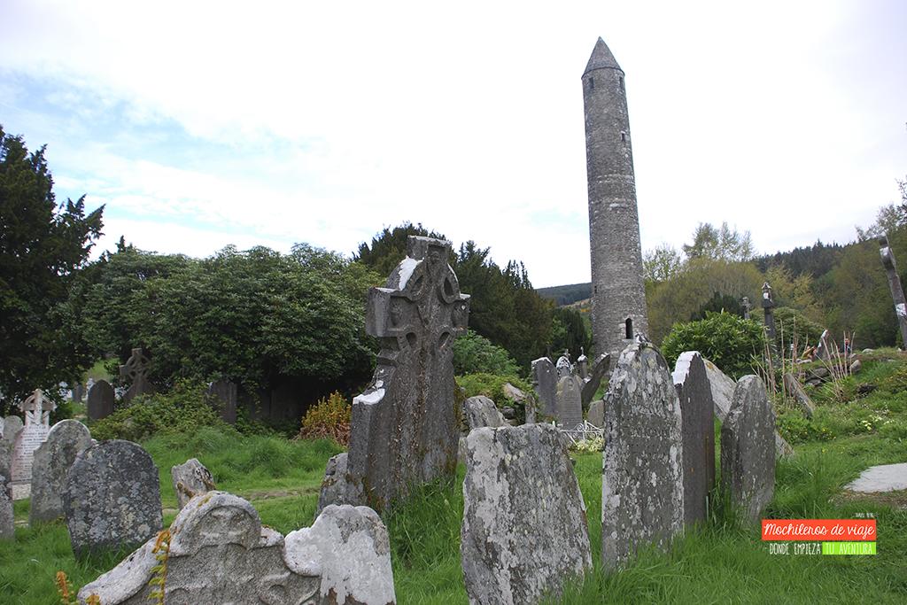 cementerio de glendalough en irlanda