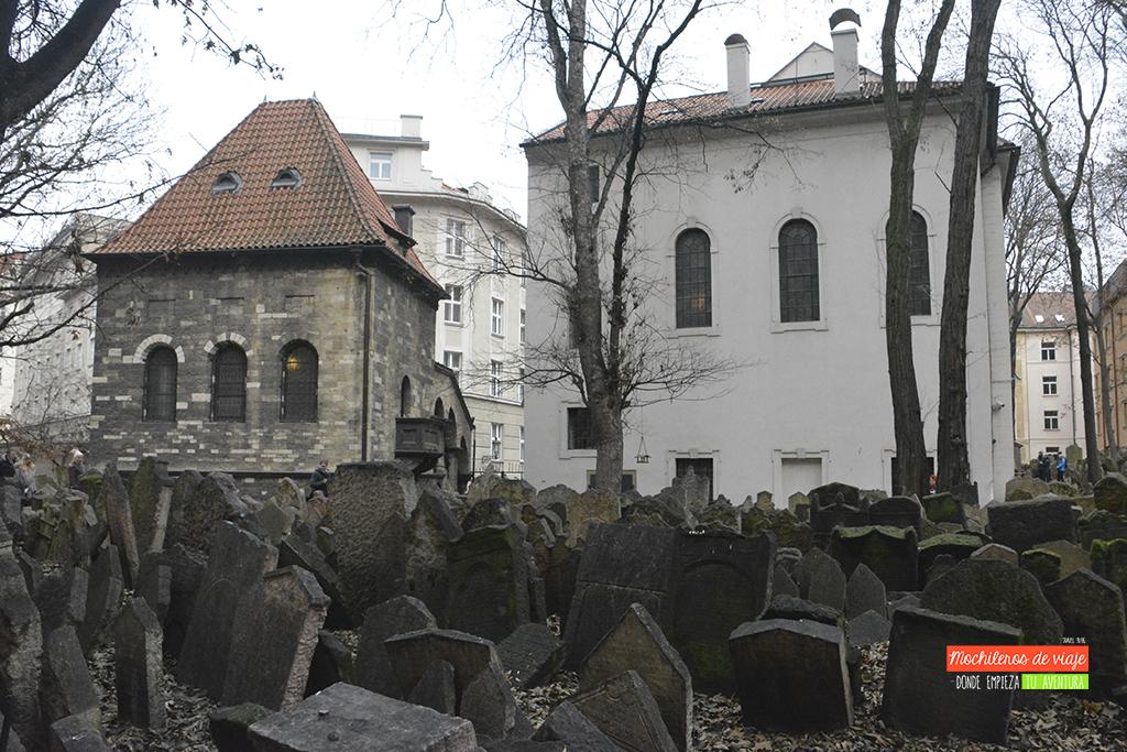 cementerio y sinagoga praga