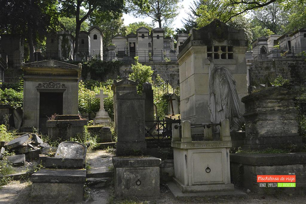 cementerio de pere lachaise paris