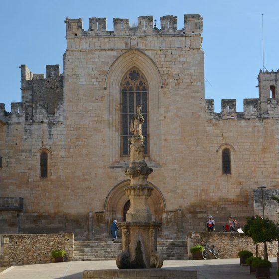 visita al monasterio de santes creus