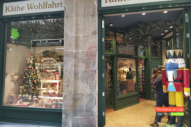 tienda en barcelona käthe wohlfahrt