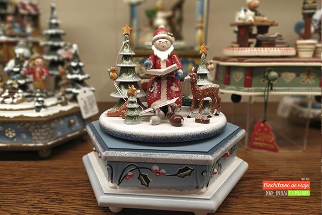 tienda de la navidad en barcelona diorama