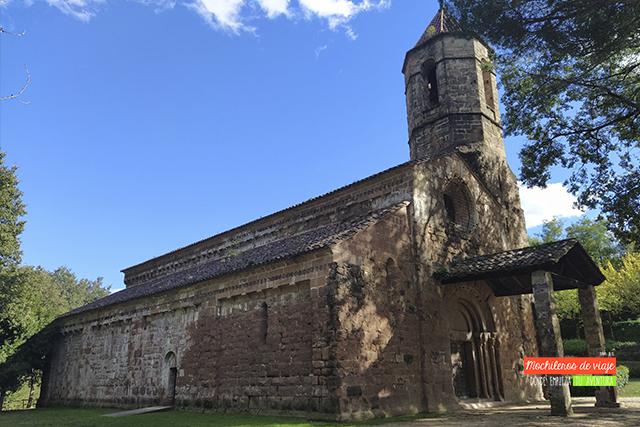 iglesia romántica sant joan les fonts