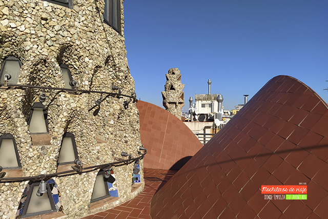 visita a la azotea del palau güell