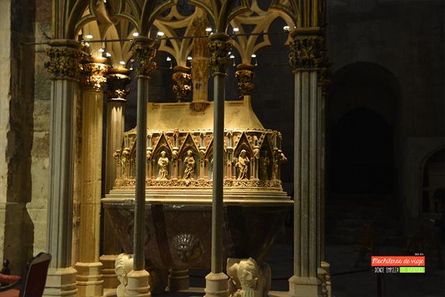 visita al monasterio de santes creus pere el gran