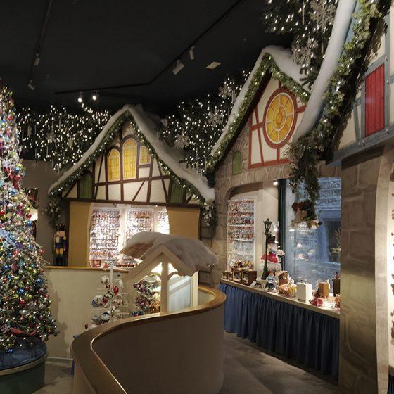 tienda de la navidad en Barcelona