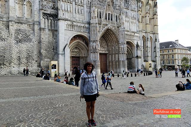 catedral de rouen normandía