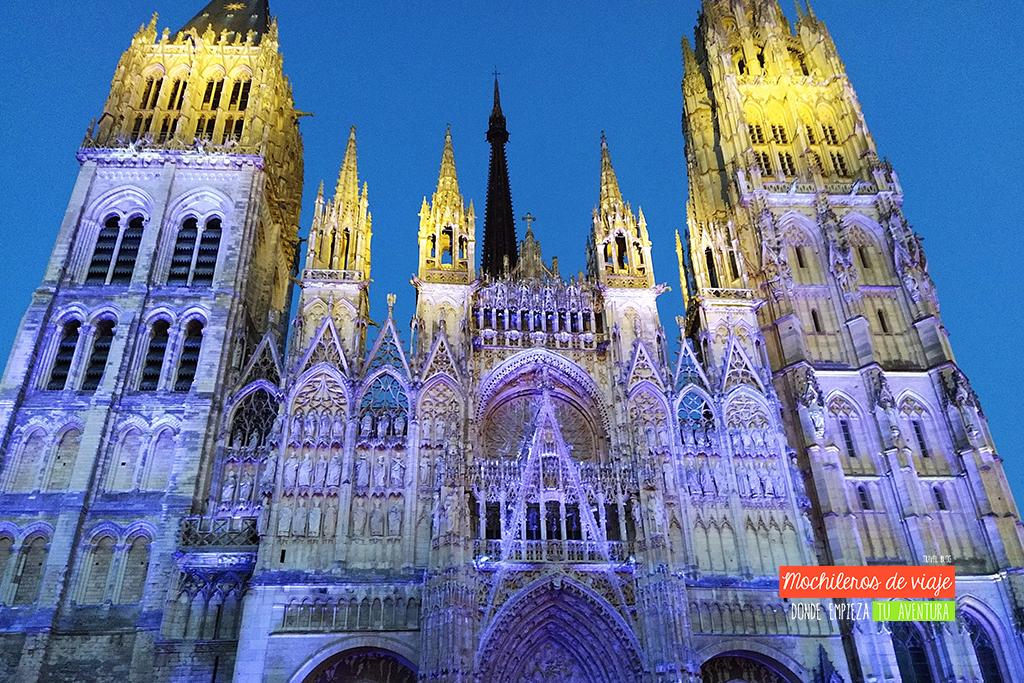 mapping catedral de rouen