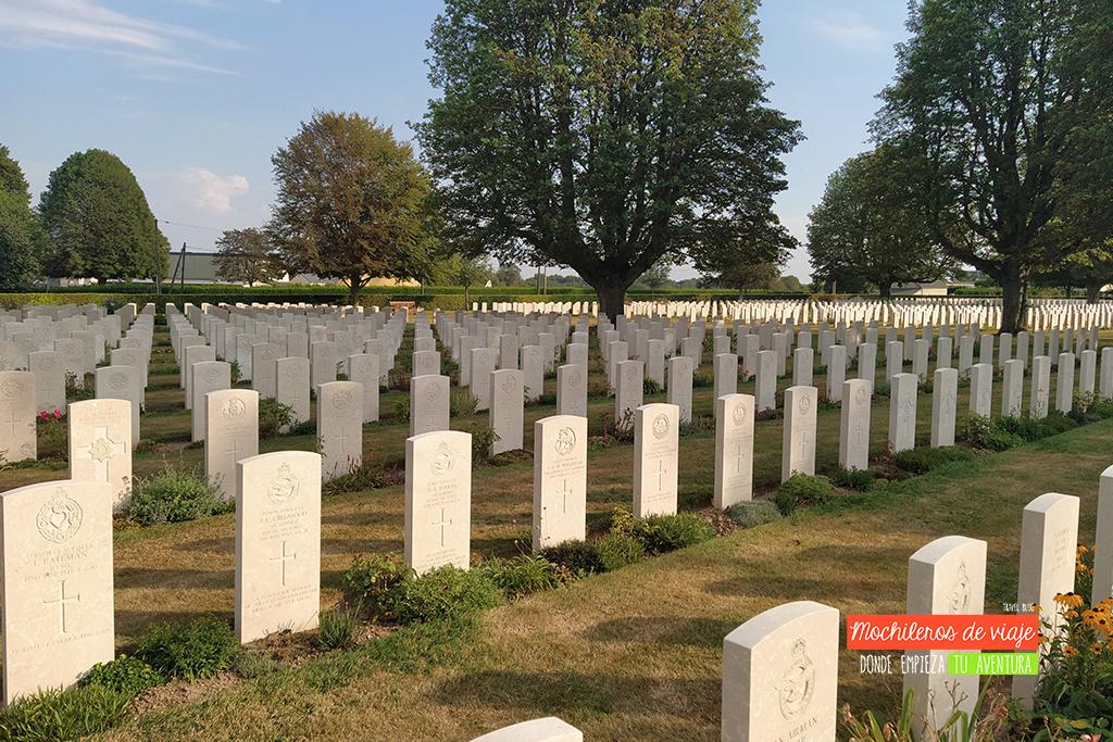 cementerio ingles en bayeux