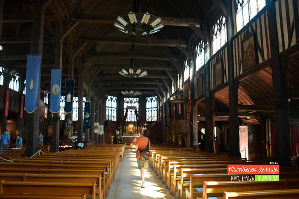 iglesia de madera de honfleur