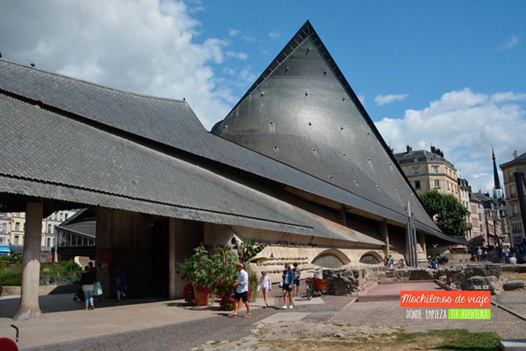 iglesia de juana de arco en rouen