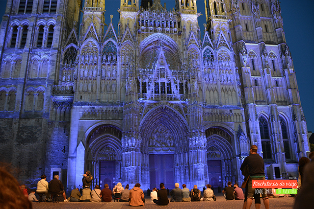 mapping les illuminations rouen