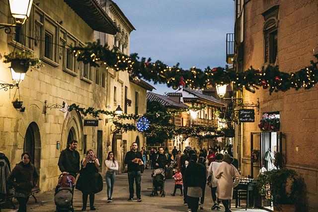 nadal poble espanyol
