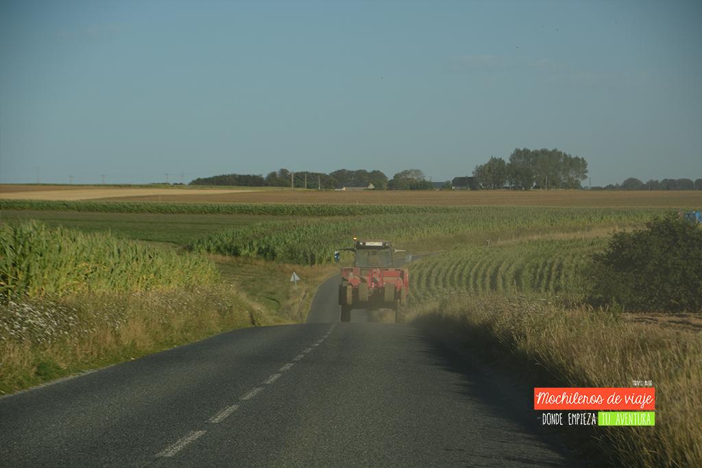 paisaje rural en normandía