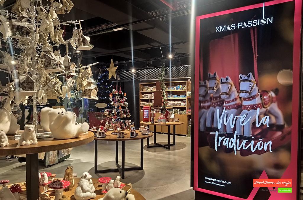 tienda xmas passion del centro comercial glories