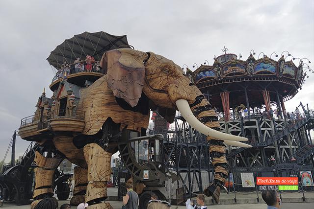 que hacer y ver en nantes elefantes machines de l'ile