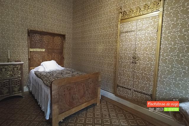 dormitorio teresa casa amatller en barcelona
