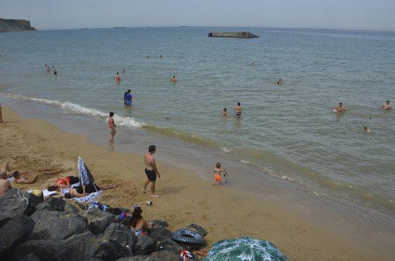 ruta por las playas del día d