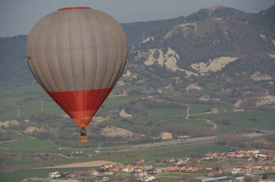 vuelo en globo en vic