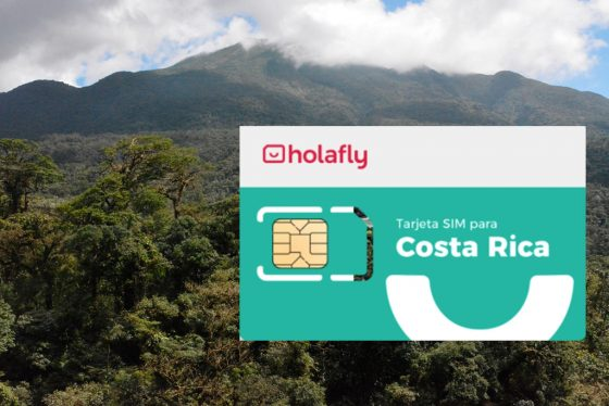tarjeta SIM para viajar a costa rica