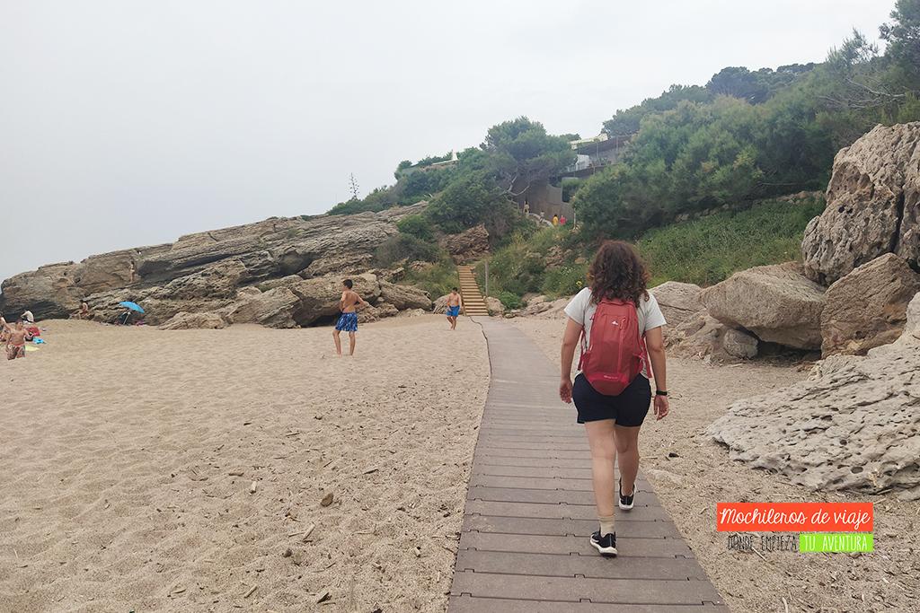 camino de ronda platja del racó