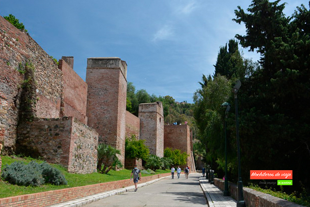 exterior alcazaba málaga