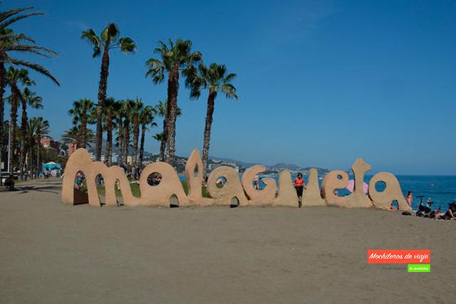 ver málaga en dos días playa de la malagueta