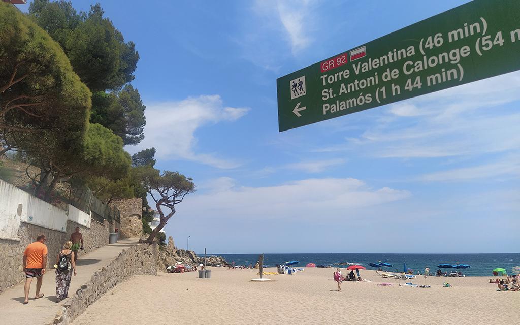 camino de ronda de platja d'aro a sant antoni de calonge